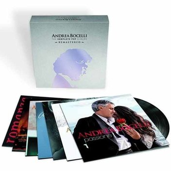Win a copy of the Andrea Bocelli Pop Albums vinyl box set
