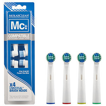 Take home a MolarClean toothbrush head for free