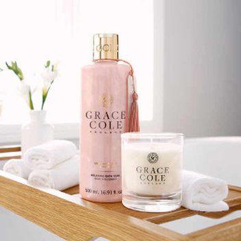 Get a free Grace Cole beauty hamper, worth £100