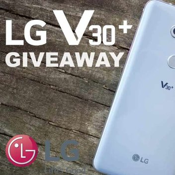 Win An LG V30+ with LG & AndroidHeadlines
