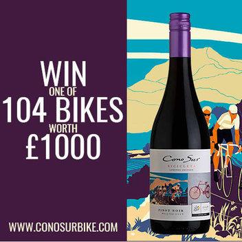 Get 1 of 104 free bikes worth £1,000