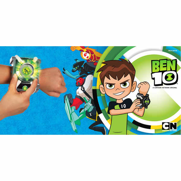 Get your child a free Ben 10 Deluxe Omnitrix Watch