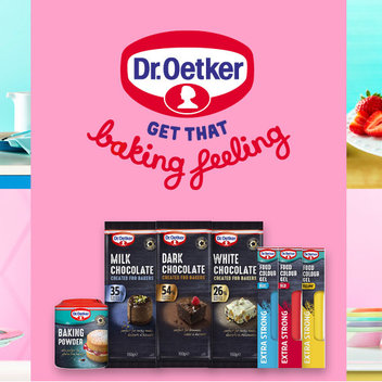 Redeem £1 off any Dr. Oetker Baking product