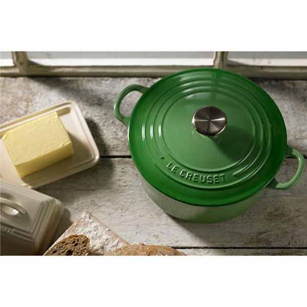 Win a Le Creuset cast iron round casserole dish worth £169