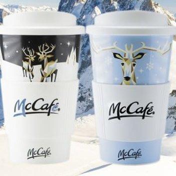 Claim a free McDonald's reusable cup