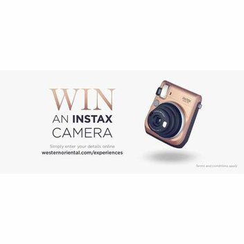 Win an Instax camera with Western & Oriental