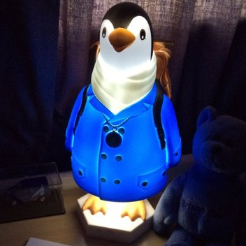 Free Wilbur the Penguin Night Light
