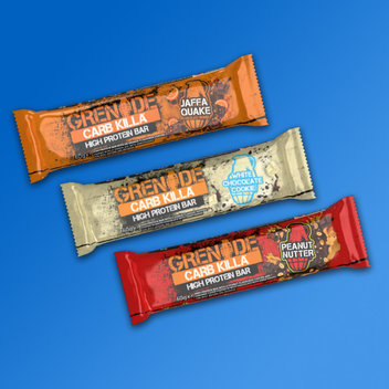 Grab a free Grenade Carb Kills protein bar