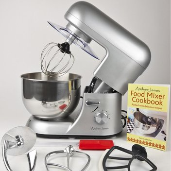 Add a free Andrew James Stand Mixer to your kitchen