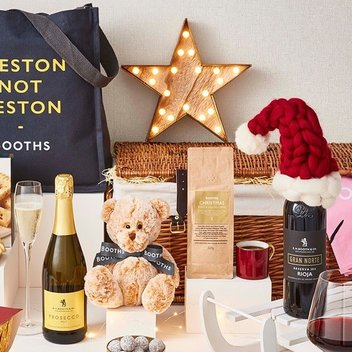 Win a luxury Christmas hamper from Booths