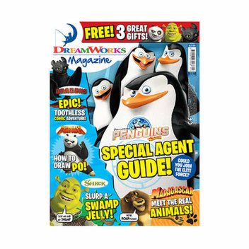 Win 1 of 200 copies of the new DreamWorks Magazine