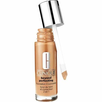 Free Clinique Beyond Perfecting foundation & Cleaner
