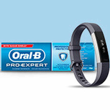 Get a free Fitbit with Oral B