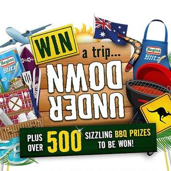 Take a free trip down under & claim sizzling BBQ prizes