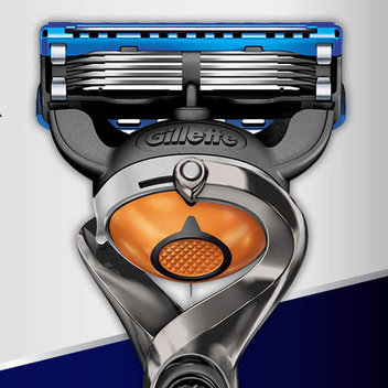 Try the Gillette Proglide Flexball Razor