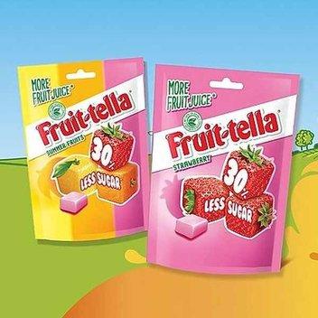 Score a free bag of Fruitella sweets