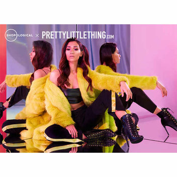 Get a £100 voucher to spend at PrettyLittleThing