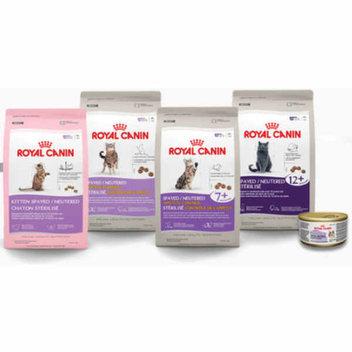 Free Royal Canin cat food sample