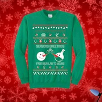 Keep warm with a free holiday sweater
