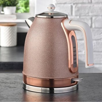 Win a Sparkly Grey Kettle, Toaster & Microwave