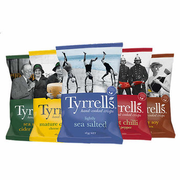 Try out Tyrrells Crisps for free
