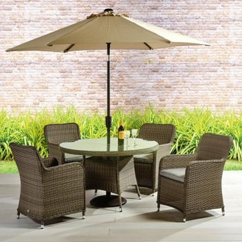 Win a Tuscany round table, chairs & parasol