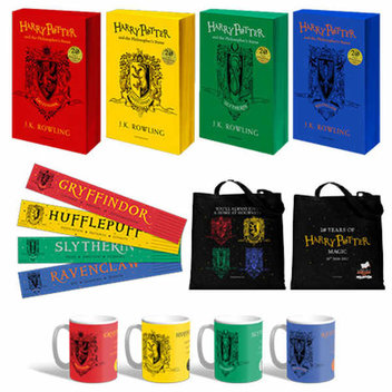 Win 1 of 20 Harry Potter Hogwarts House personalised National Book Tokens