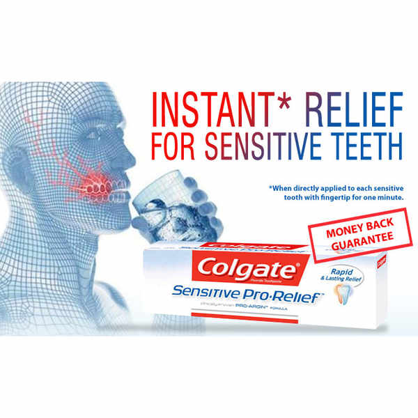 Enjoy a 50p off Colgate Sensitive Pro-Relief