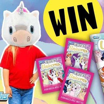 Get 1 of 10 I Believe in Unicorns sticker starter packs