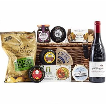 Indulge in a free Premium Cheese Hamper