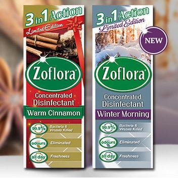 Snap up free Zoflora Festive fragrances