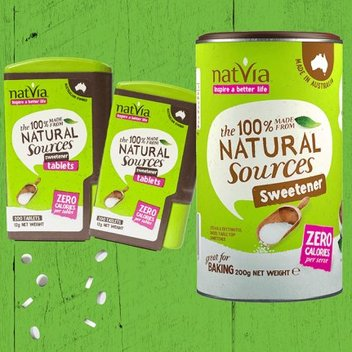 Quit sugar with a free Natvia sample