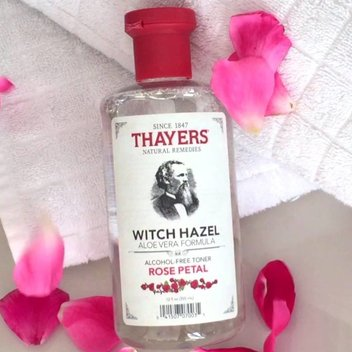 Sample Thayers Witch Hazel With Aloe - Rose Petal Toner for free