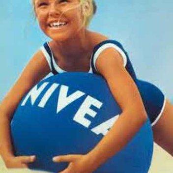 Free Nivea classic beach ball