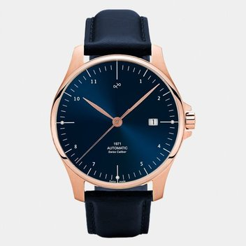 Win a 1971 Swiss Made Automatic blue sunray watch