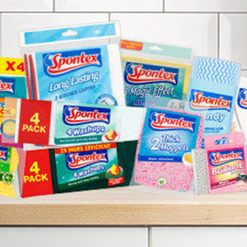 Score a free Spontex Cleaning Kit