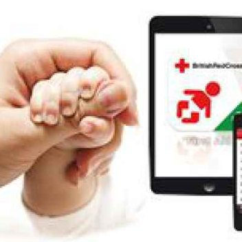 Free First Aid App for babies and children from Red Cross