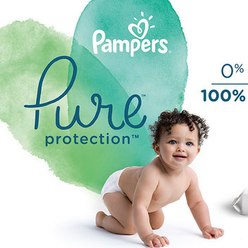10,000 free samples of Pampers Pure Protection