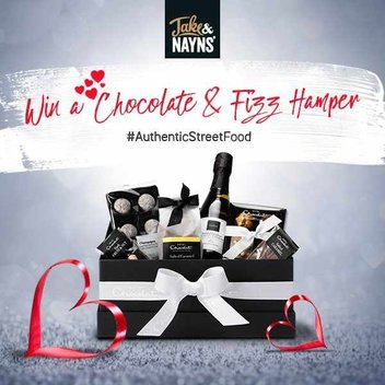 Win a Chocolate & Fizz hamper