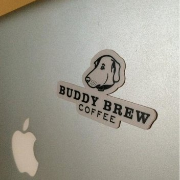 Score free Buddy Brew Coffee stickers