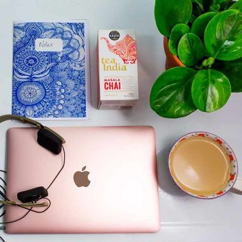 Win a Rose Gold Apple MacBook with Tea India®