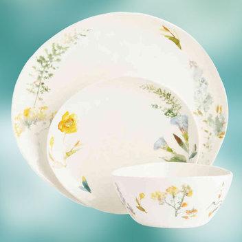 Win an M&S Watercolour Dinnerware Set