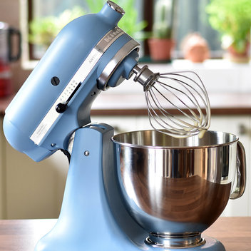 Upgrade your kitchen with a KitchenAid Velvet Blue 4.8L Artisan Stand Mixer