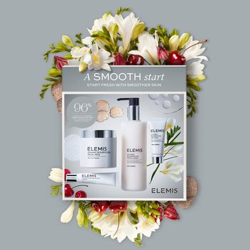 Win an ELEMIS Dynamic Resurfacing Smooth Start Collection