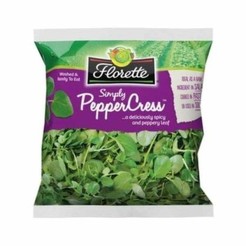 Free bag of Pepper Cress from Florette