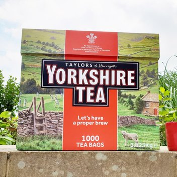 Enjoy a year's supply of Yorkshire Tea