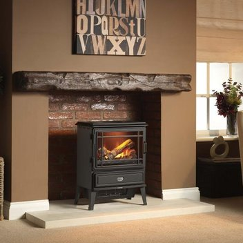 Warm your home with a free Evandale Opti-myst Electric Stove