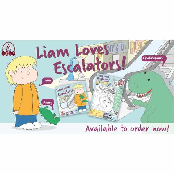 Free Liam Loves Escalators book