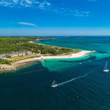 Enjoy an ocean view room for 2 at Karma St. Martin's on the Isles of Scilly, worth £1,500
