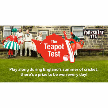 Free Cricket Set with Yorkshire Tea